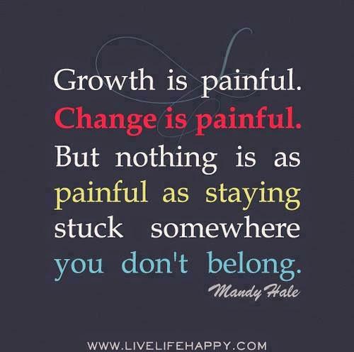 Get UnStuck - despite the pain