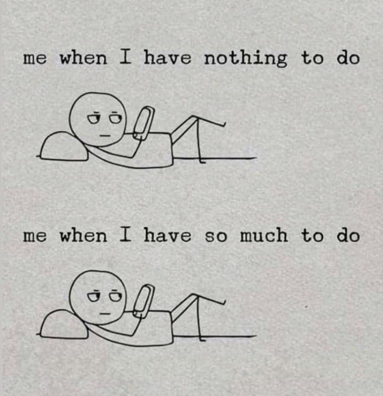 Bored vs. Busy