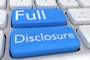 Disclosure While Dating