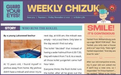 Weekly newsletter #24 - Vayetzei