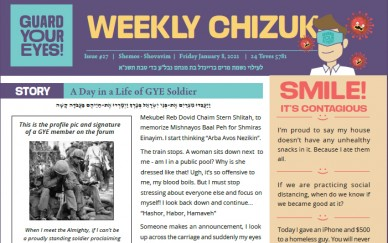 Weekly newsletter #27 - Shemos / Shovavim