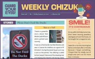 Weekly newsletter #28 - Parshas Bo