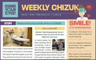 Weekly newsletter #31 - Parshas Ki Sisa