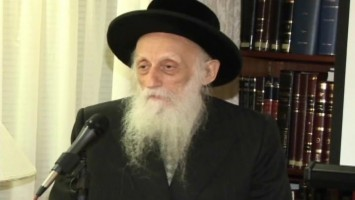 Rabbi Twerski's recent talk in Jerusalem