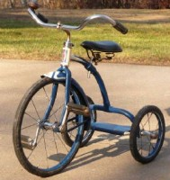 A Nice, Shiny Blue Tricycle